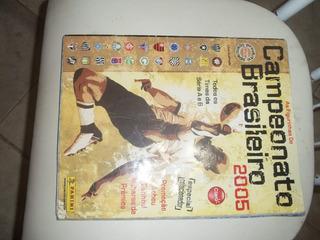 Raro Álbum Figurinhas Campeonato Brasileiro 2005 Completo