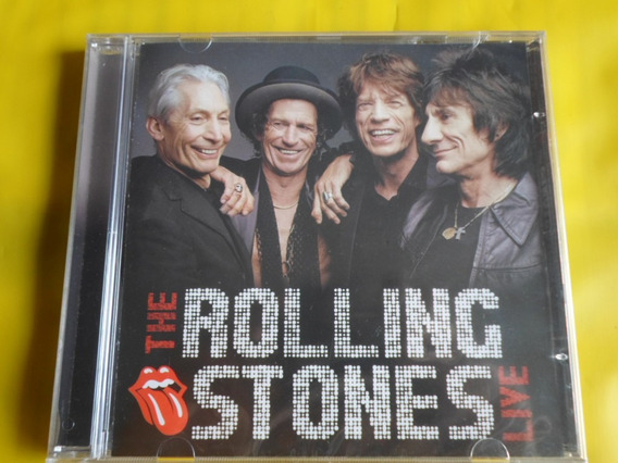 Cd The Rolling Stones Live / Novo