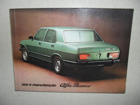 Alfa Romeo - Manual Proprietário - Todos Modelos -