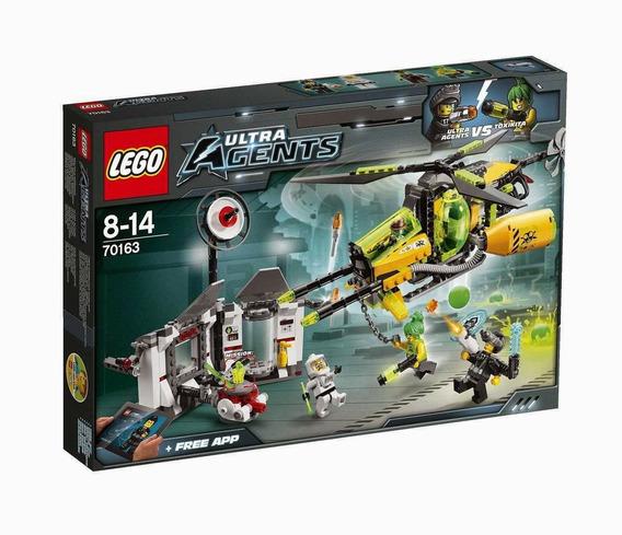 Lego Ultra Agents 70163 Fusão Toxica De Toxikita 429 Peças