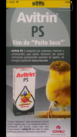 Avitrin Ps - Fim Do Peito Seco