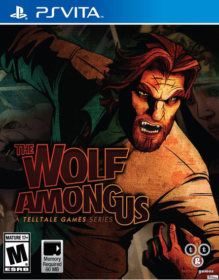 Jogo Novo Lacrado Telltale The Wolf Among Us Para Ps Vita