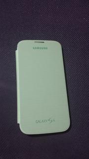 Capa Flip Cover Para Galaxy Samsung S4 Original - Verde