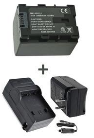Kit Bateria Bn-vg121 + Carregador Para Filmadora Jvc Everio