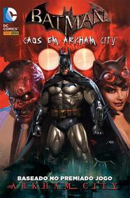 Batman: Caos Em Arkham City - Volume 01 - Panini (lacrado)