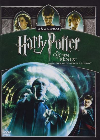 Harry Potter Y La Orden Del Fenix Año 5 Cinco Pelicula Dvd