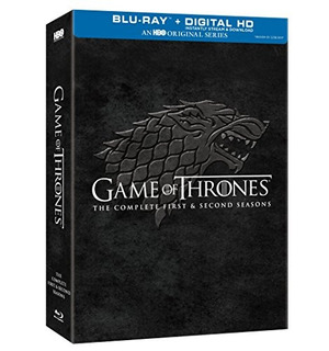 Blu-ray : Game Of Thrones: The Complete First & Second...