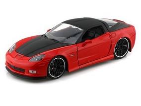 Corvette Z06 2006 Vermelho Jada Toys 1:24