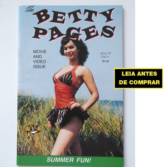 Betty Page - Movie And Video Issue - Pin Up