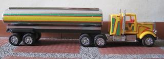 Camion Cisterna Carrotanque Sico Antiguo Plastico Retro Jugu