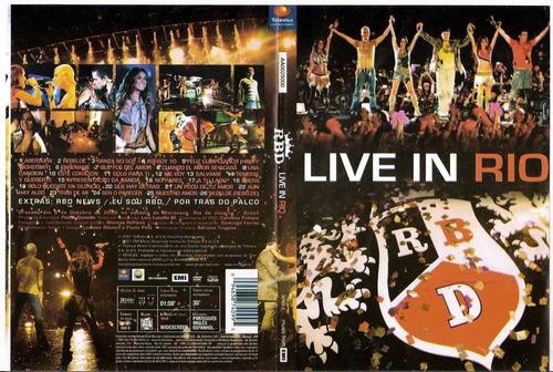 Dvd - Rbd Live In Rio - Rarissimo