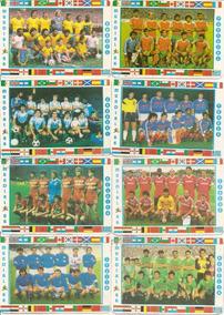 1986 Copa Do Mundo 24 Cards Seleções Edição Portugal Raro