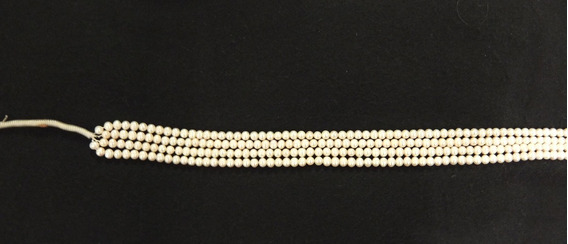 Un Hilo De Perla Cultivada De 7mm. Lindo Oriente
