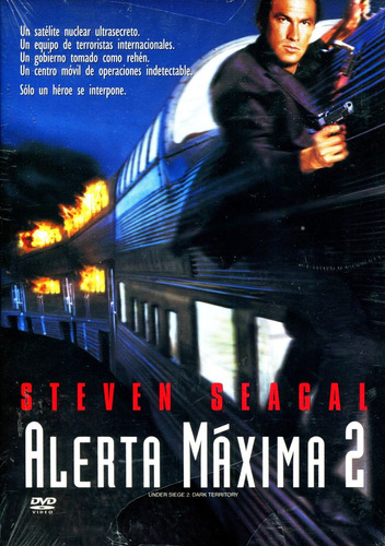 Dvd Alerta Maxima 2 (under Siege 2) 1995 - Geoff Murphy, Ste