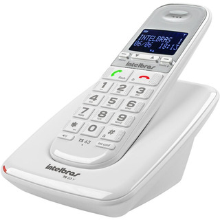 Telefone Sem Fio Digital Ts 63v Branco Intelbras