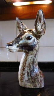 Lladró Autentica Escultura Busto De Gacela Año 1.971