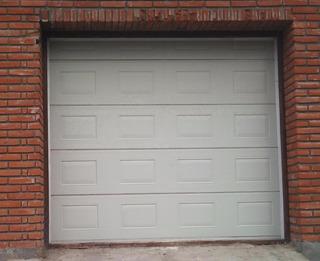 Portón Seccional Automático 2,54 Por 2x25 De Alto