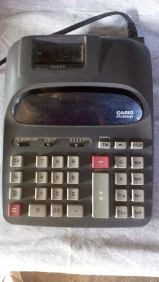Calculadora Sumatoria Casio Fr- 2650a (usada)