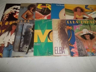 * Lp Vinil - Elba Ramalho Com 10 Discos