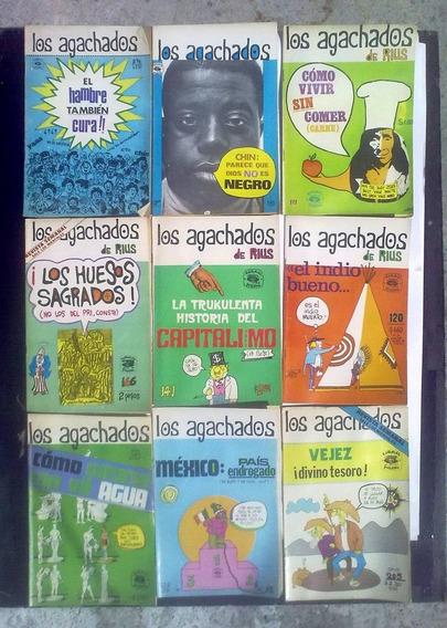 Los Agachados Y Super Machos De Rius Revistas Varias