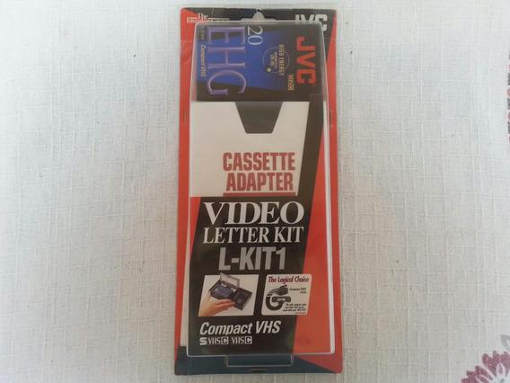 Adaptador Video Cassette Jvc Novo Lacrado!
