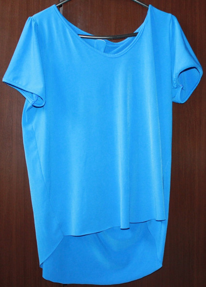 Camiseta Azul - Rf188