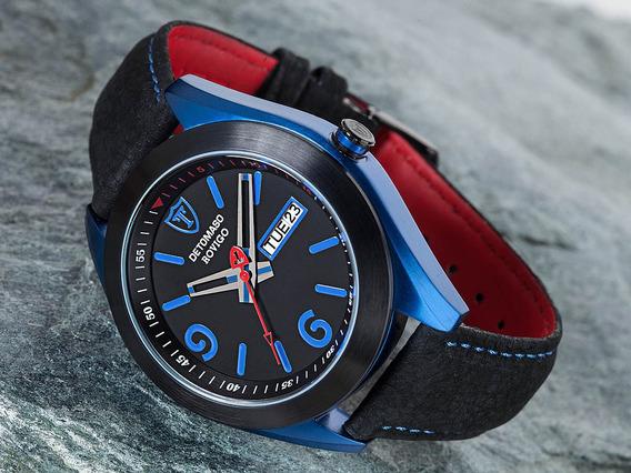 Relógio Detomaso Rovigo Black Blue