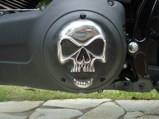 Tampa Primária Harley Derby Cover Fat Boy /dyna 1450/1700cc