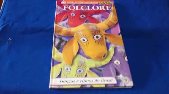 Coleção De Ouro No Mundo Folclore Recreio Abril R$ 9,90