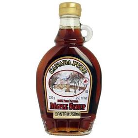 Xarope Maple 100% Syrup Canada Pure 250ml Frete Gratis
