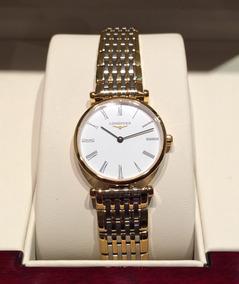 46a9f829a614 Reloj Longines Dama Mod La Grande Classique Bicolor Nuevo