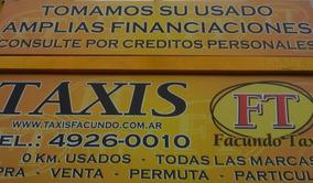 Alquilo Licencia Taxi Con Posibilidad Compra 2008 A 2016 (m)