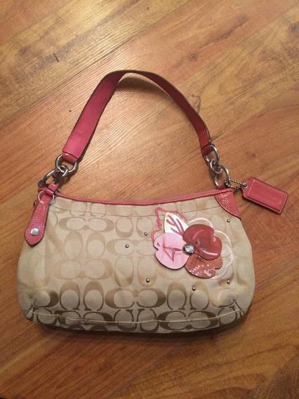 Padrisima Bolsa Coach Shoulder Bag Signature Patent Leather!