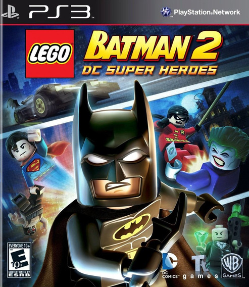 Lego Batman 2 Super Heroes - Ps3 - Ptbr - Artgames Digitais