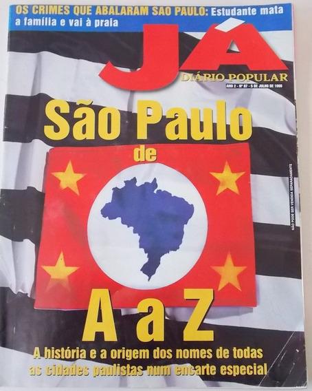 Revista Já Diário Popular 87 São Paulo De A Ao Z