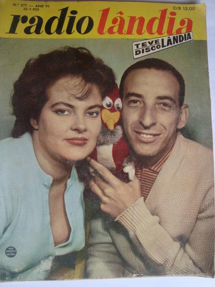 Radiolândia 277 1959 Cantora Maysa Chacrinha, Celi Campelo