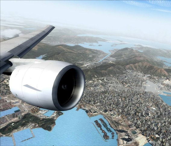 Simulador De Voo Completo E Cenário Do Rio De Janeiro