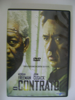 Dvd O Contrato Com Morgan Freeman E John Cusak