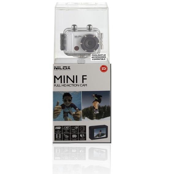 Câmera De Ação - Mini F Wi-fi - Nilox