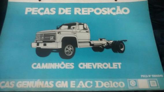 Catalago De Peças De Reposição Caminhões Chevrolet