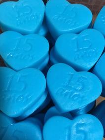 50 Mini Sabonetes De Coração-15 Anos! Promoção!