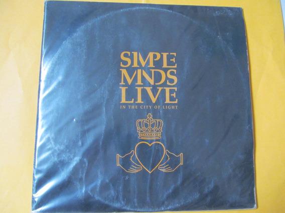 Simple Minds - Combo Com 03 Lps, Sendo 01 Duplo