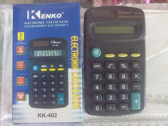 Calculadora De Bolsillo Kenko 8 Digitos Martins