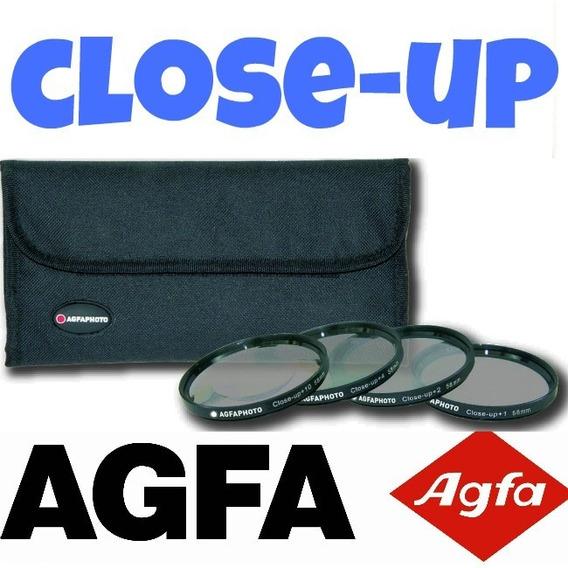 Kit Macro Close-up Agfa Hd Fullhd 52mm 55mm 58mm (4 Lentes)
