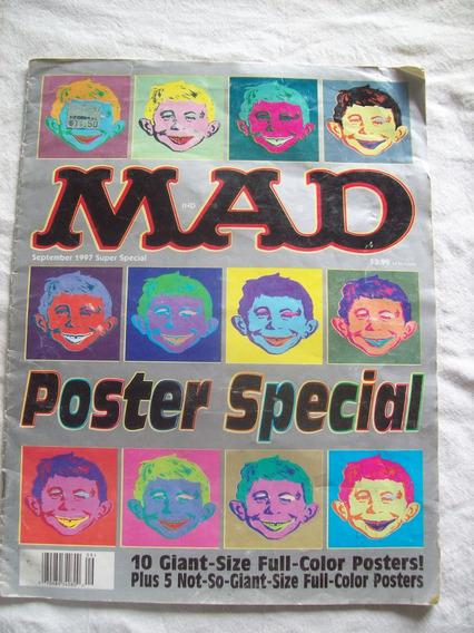 15 Posters Gigantes Especiales De Mad A Todo Color.
