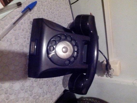 Telefone Antigo Baquelite Lote 2 Peças