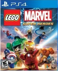 Lego Marvel Super Heroes (mídia Física) - Ps4 (novo)