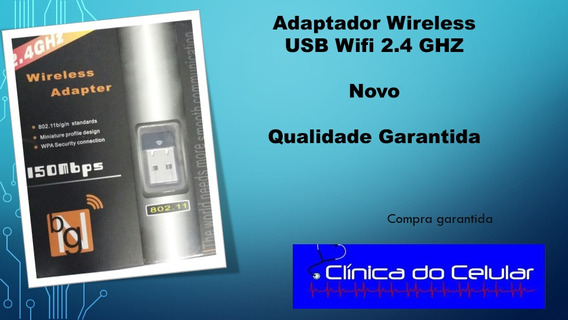 Adaptador Wireless Usb Wifi 2.4 Ghz