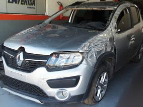 Sucata Peça Renault Sandero Stepway Motor 1.6 8v Flex 2015