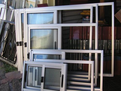 Ventanas Aluminio Anodizado Fina Terminación 60 X 30